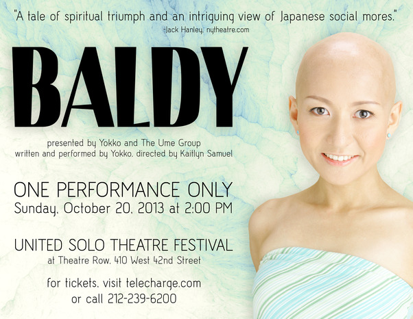 Come see BALDY in NYC!